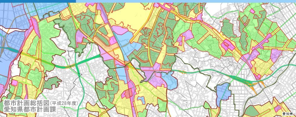 都市計画総括図(平成24年度版)