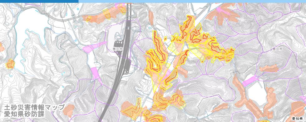 土砂災害情報マップ
